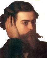 Ritratto di Goffedo Mameli, autore dei versi dell'inno nazionale italiano